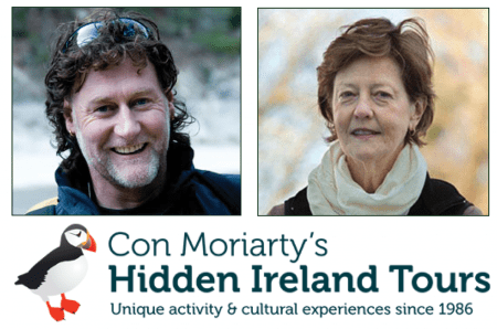 Con Moriarty & Binky Oswalt, Hidden Ireland Tours