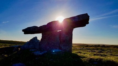 Ancient tomb in Ireland
