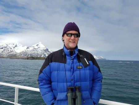 Con Moriarty in Antarctica