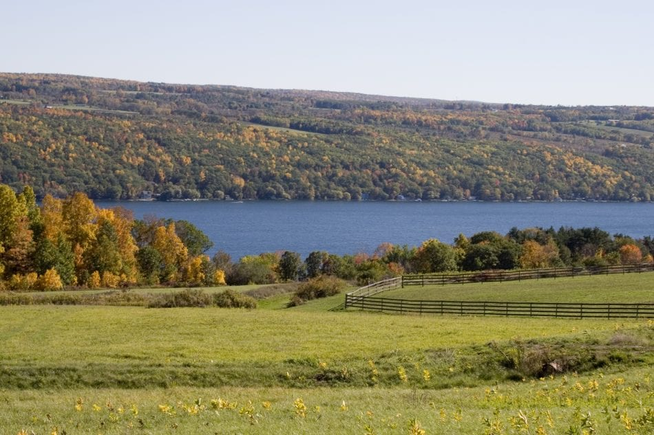 Keuka Lake, in Finger Lakes Wine Country, NY