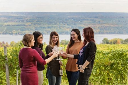Wine Tasting at Fulkerson Winery