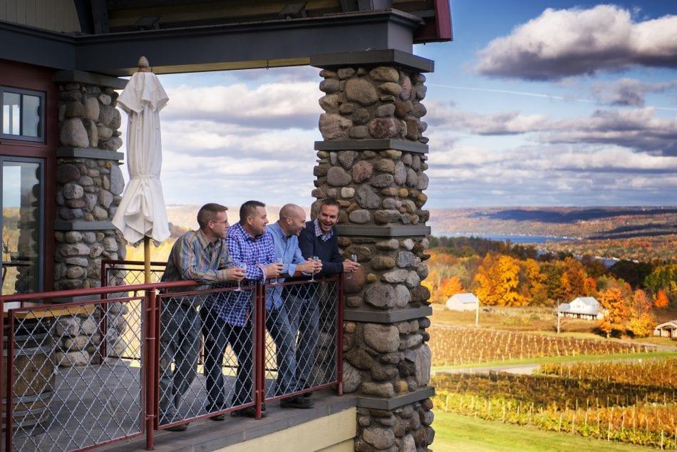 Finger Lakes, NY Wine Tasting, Heron Hill Winery