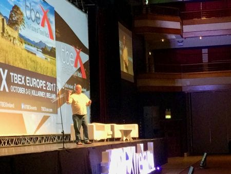 Gary Arndt, Opening Keynote Speaker at #TBEXIreland
