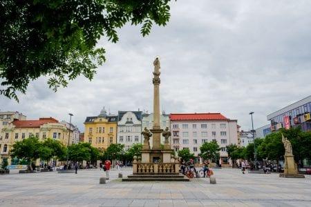 Marasyk Square, Ostrava, CZ
