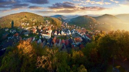 Stramberk in Moravian-Silesian Region, CZ