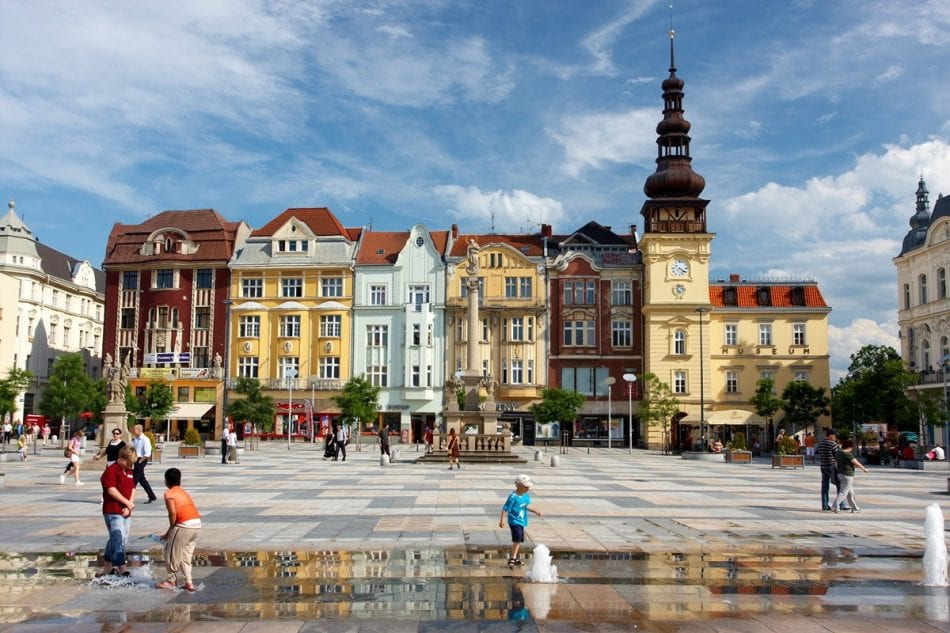 Masaryk Square, Ostrava CZ