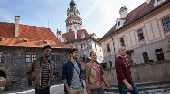 Český Krumlov, UNESCO Heritage Site, CZ