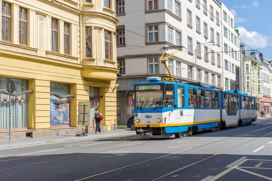 A Tram in Ostrava