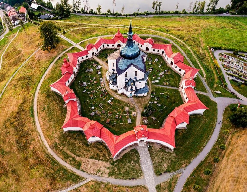Jan Nepomuk Church, CZ