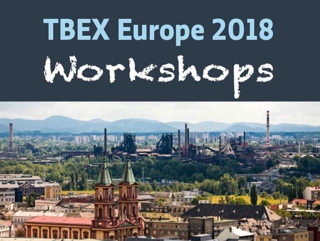 TBEX Europe 2018 Workshops
