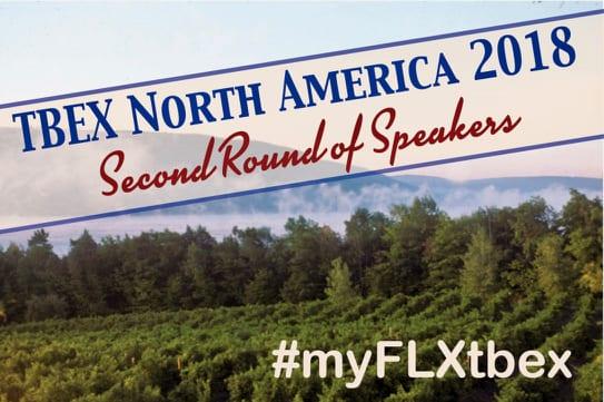 2nd Round of Speakers - #myFLXtbex