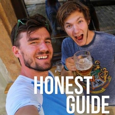 Janek Rubes and Honza Mikulka of Honest Guide