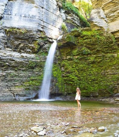 Eagle Cliff Falls, Finger Lakes, NY