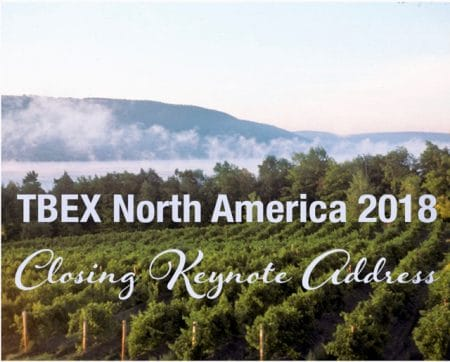 TBEX North America Closing Keynote
