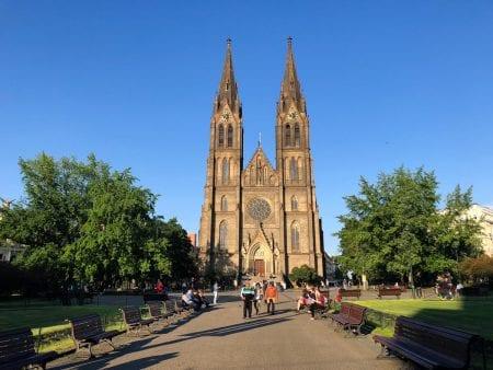 The Church of St. Ludmila - Veronika TravelGeekery