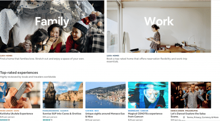 Airbnb's growth