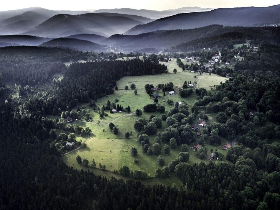 Giant Mountains of Hradec Kralov