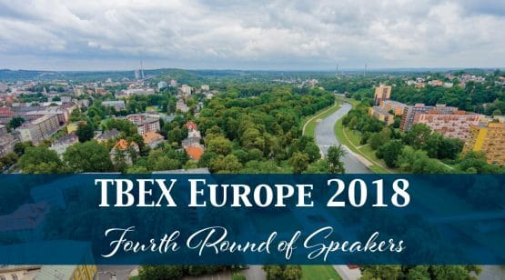TBEX Europe 2018 Fourth Round of Speakers