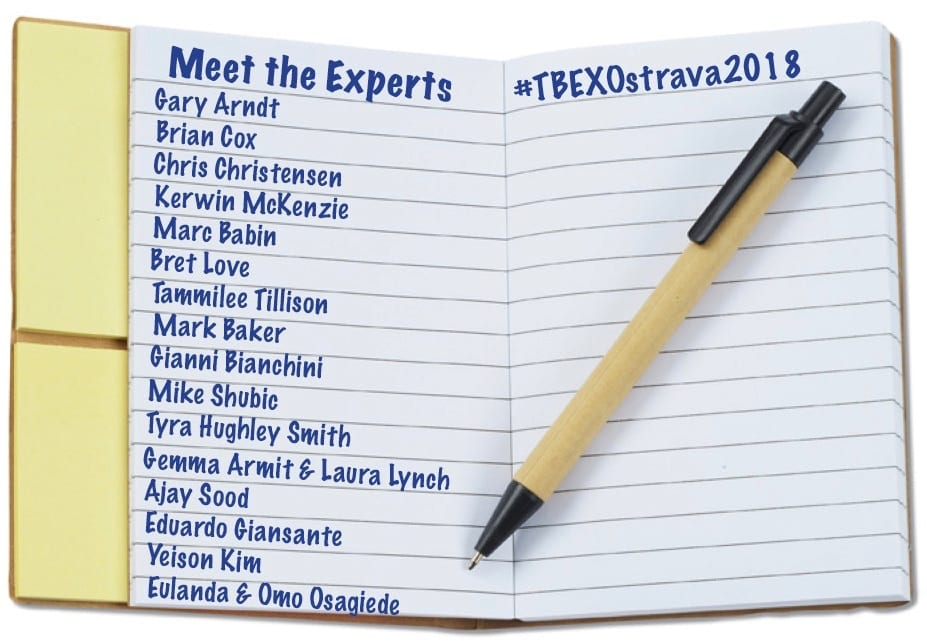 Meet The Experts at #TBEXOstrava2018
