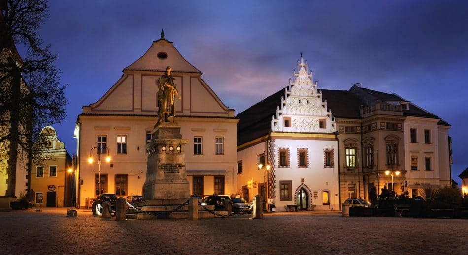Small Town Charm in Czech Republic