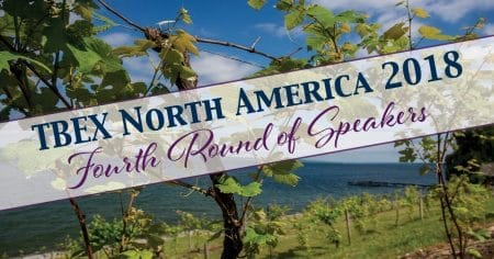 TBEX North America 2018 Fourth Round of Speakers