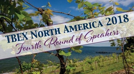 TBEX North America 2018 Fourth Round of Speakers