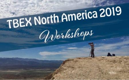 Workshops at TBEX North America 2019