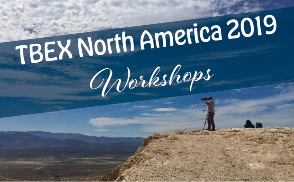 Workshops at TBEX North America 2019