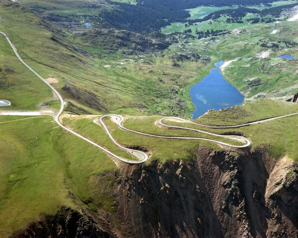 Beartooth Highway in Montana