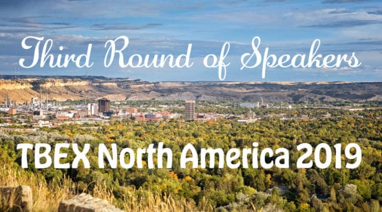 Third Round of Speakers TBEX North America 2019
