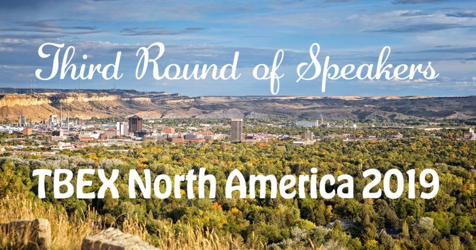 Third Round of Speakers TBEX North America 2019