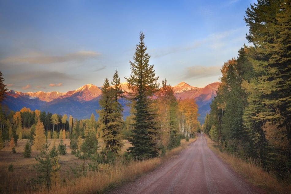 Fall in Western Montana