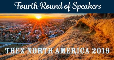 TBEX North America 2019 Speakers