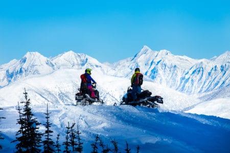 Winter in Glacier Country, MT