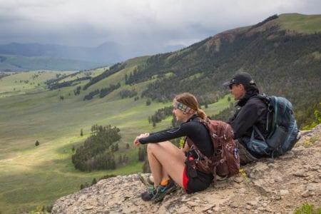 Northeast side of Yellowstone NPS